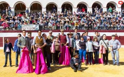 Salvador Vega, organizó un tentadero público a beneficio de la Asociación Down Zafra